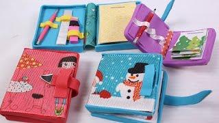 DIY miniature Doll Diary: doll school supplies