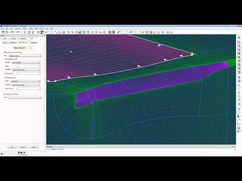 Structured Meshing for Low-Speed Ship Maneuvering Simulations