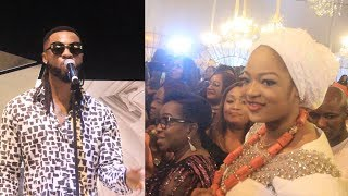 QUEEN NAOMI OGUNWUSI DANCE WITH FLAVOUR BUGGI DOWN WITH HER VISIBLE BABY BUMP TO FLAVOUR MUSIC