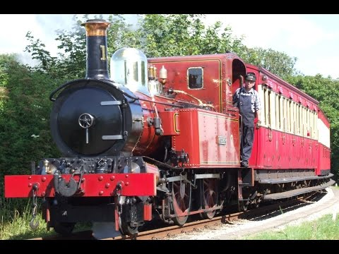 Action on the Isle of Man Steam Railway (July & August 2015)