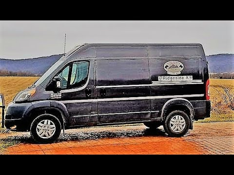 2018 Ram Promaster 2500 Dog Business Review. Road Test and MPG test.