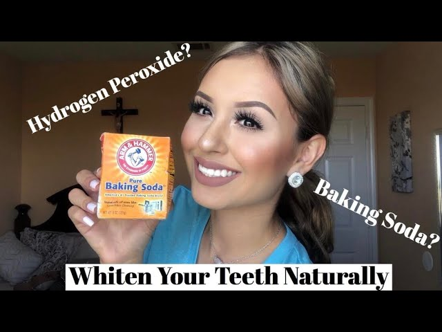 How To Whiten Your Teeth Naturally At Home For 5 Baking Soda