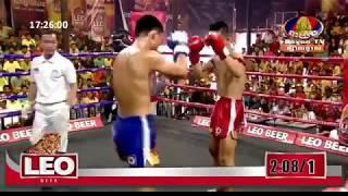 ប្រដាល់គូរពិសេសធានាថាមើលជក់ចិត្ត វង្ស- ណយ VS អារុងដេត ប៉ាក់ឈុងថៃ-Khmer VS Thai