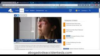 Niño cae del quinto piso en edificio de Los Ángeles