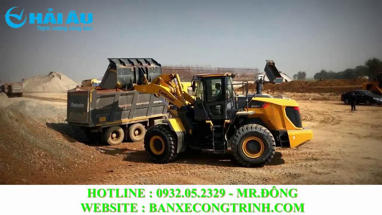 Top Máy Xúc Lật Tốt Nhất Thế Giới : Liugong CLG856H Gầu 3m3