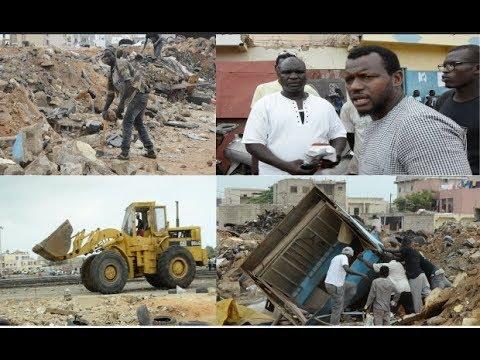 Désencombrement de Dakar : Le regime de Macky Sall joint l'acte à la parole #Regime