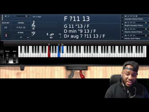 AARON LINDSEY CHORDS    A MUST LEARN!!!