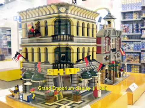 LEGO Outlet Store Visit, Ontario Mills, CA, 3/4/2010 - YouTube