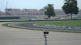 2007 United States Grand Prix - Cars make a lap