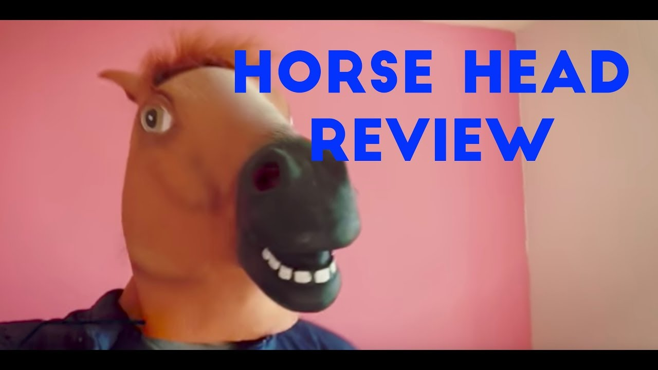 horse head mask review halloween party cosplay mask costume