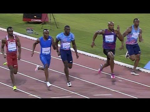 Men's 100m - Doha IAAF Diamond League 2017 BEST QUALITY