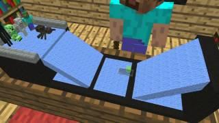Monster School: Skateboarding (Minecraft Animation)