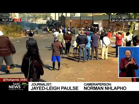 KZN Protests I Looting in Cinderella Park in Pietermaritzburg, residents disheartened