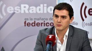 Entrevista a Albert Rivera en 'Es la Mañana de Federico' - 27/01/16