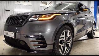 Range Rover Velar 2018 // Лиса рулит