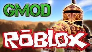 Gmod ROBLOX CHARACTER NPC Mod! (Garry's Mod)