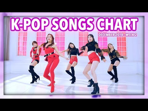 K-POP SONGS CHART  DECEMBER 2018 WEEK 2