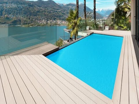 Wpc Flooring For Swimming Pool Youtube