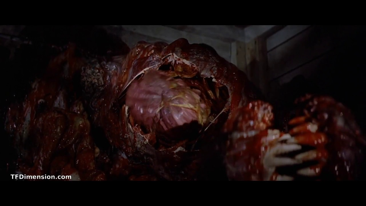 The Thing 1982 Monster Dog Transformation - YouTube