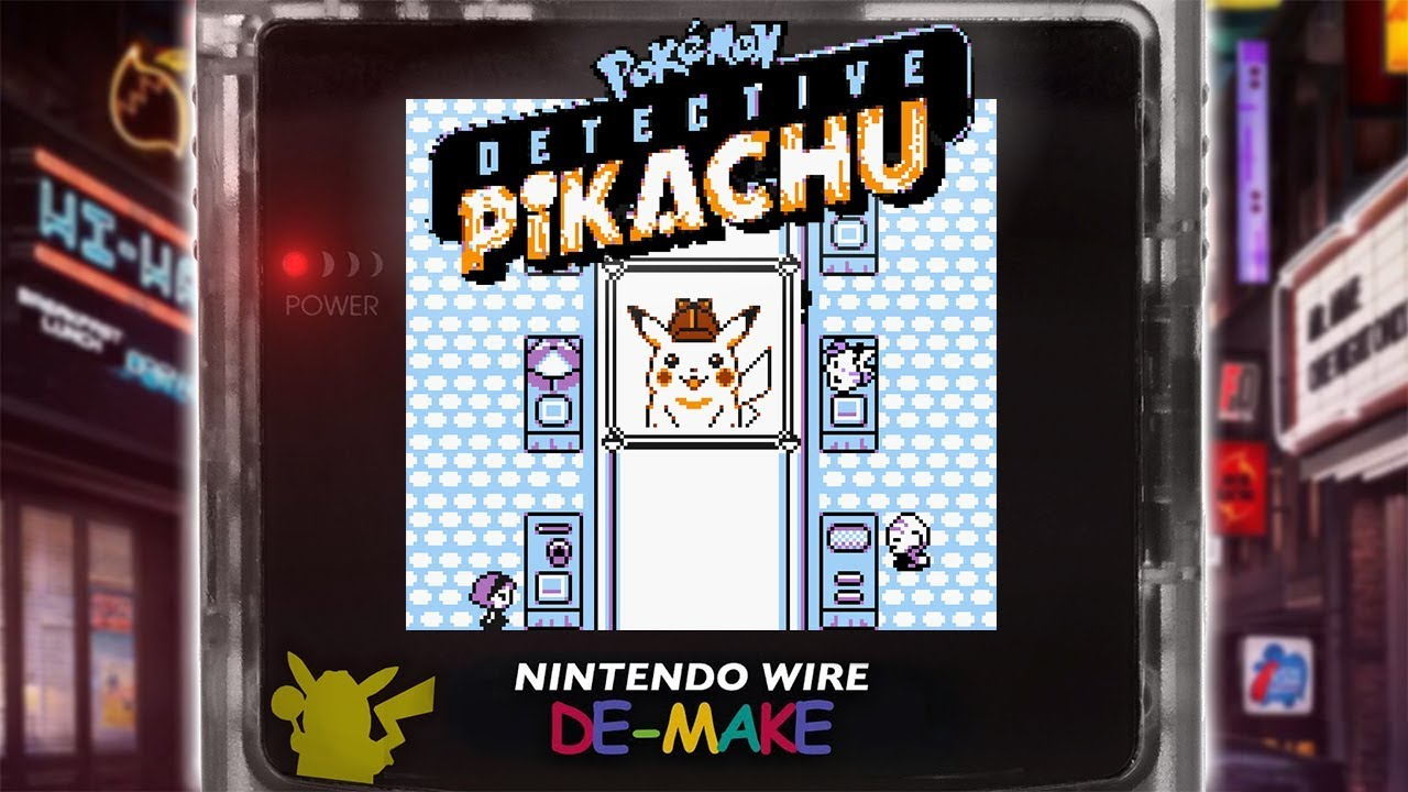 Reimagined Detective Pikachu Is Born Again As A Game Boy Color Title