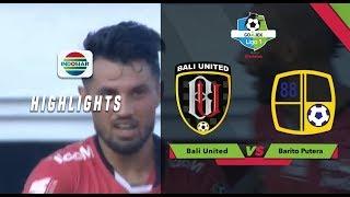 Bali United  2 - 0 Barito Putera
