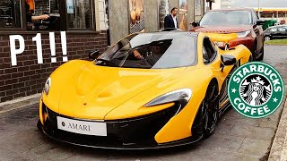 £1,700,000 MCLAREN P1 vs DRIVE THRU ANGRY MAN  *Road Rage*