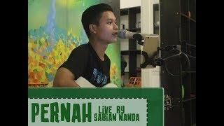 Gambar cover AZMI - Pernah ( Live music by Sabian Nanda )