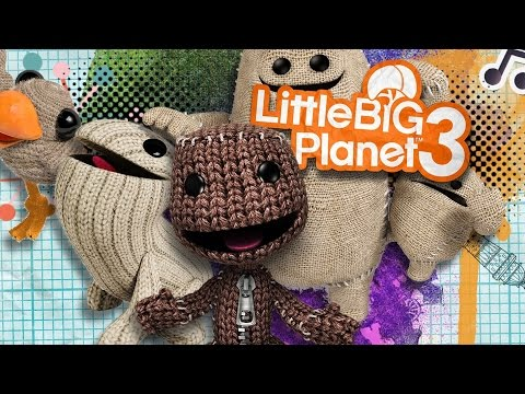 LittleBigPlanet 3 - Co-op Gameplay on PS4 - Milano Games Week 2014