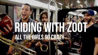 Riding with Zoot (All the girls go crazy!) - Metro Paris - Full sequence shot