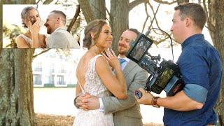 Wedding Filmmaking Behind the Scenes – How to Film a Wedding