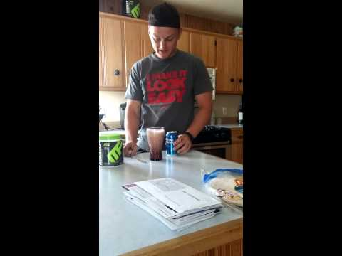 Ultimate pre workout!! (Beer and pre workout)