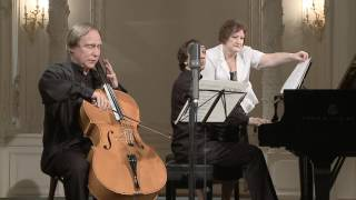 Gambar cover Sergey Roldugin (cello) Miroslav Kultyshev (piano) in St. Petersburg Music House 2013-06-26