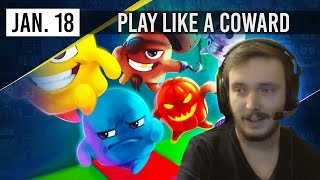 PLAY LIKE A COWARD - Move or Die w/ Zylus & Co - 18th January 2017