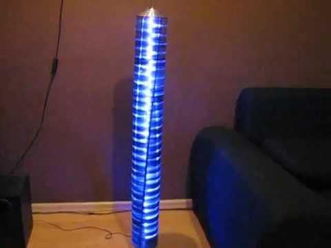 CD Lamp - YouTube