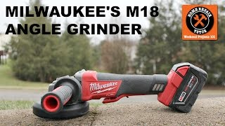 milwaukee m18 angle grinder paddle switch version
