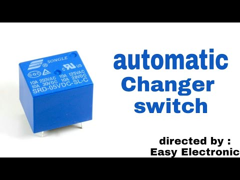How To Change Polarity With A Relay Convert Negative