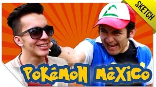 Pokémex 1 (Si Pokémon Fuera Mexicano) | SKETCH | QueParió! ft. SKabeche Free HD Video