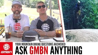 Does Size Matter? | Ask GMBN From Whistler Crankworx 2017