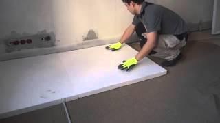 видео Пенополистирол для теплого пола