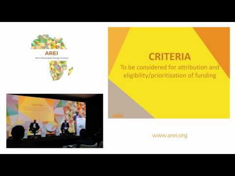 Africa Renewable Energy Initiative | Taking Off | Event at COP22
