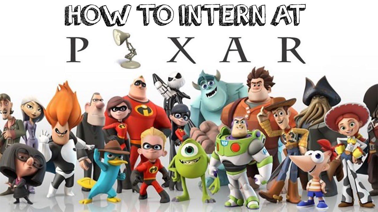 How to Get an Internship At Pixar-Eric Bravo