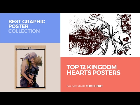Top 12 Kingdom Hearts Posters // Best Graphic Poster Collection