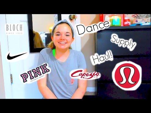Dance Supply Haul! | Carolcat