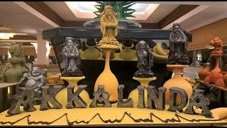 Akka Alinda Hotel 5 Отель Акка Алинда Ужин