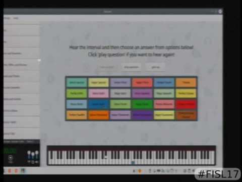 Minuet   o jeito KDE de aprender música