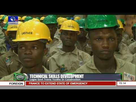 Lagos State Trains 90 Youths In Construction