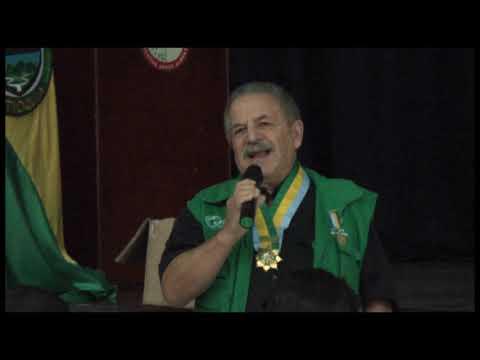 Carlos Román Castaño recibió la medalla al mérito cívico Padre Clemente Giraldo.