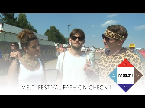 Melt! Festival Fashion Check Part 1 with Michelle Burke and Michael Buchinger