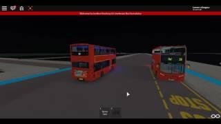 Roblox London Hackney & Limehouse bus Simulator Gemini 2 Hybrid SLN Route 205 to Whitechapel :D
