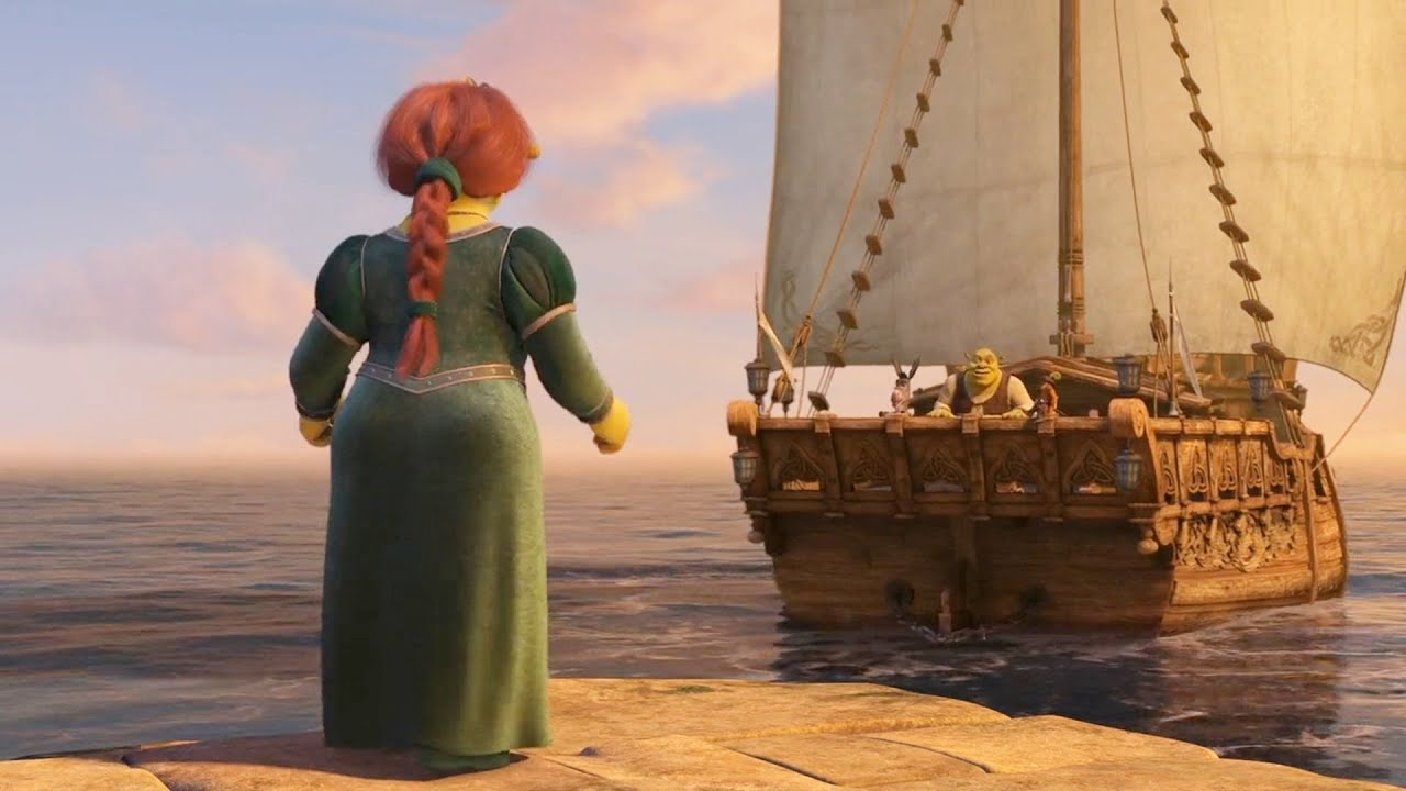Download Shrek The Third - Fiona say she was pregnant scene